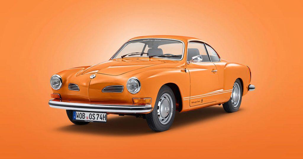 Volkswagen classic: Volkswagen Karmann Ghia Type 14 Coupé (1955–1974)